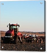 Case Ih Power Acrylic Print