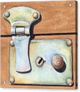 Case Latch Acrylic Print