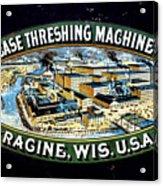 Case Threshing Machine Co Acrylic Print