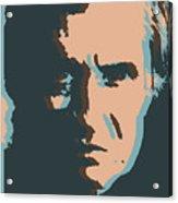 Cash Pop Art Poster Acrylic Print