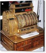 Cash Register Acrylic Print
