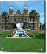Casino Of Monaco Acrylic Print