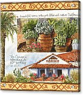 Casino San Clemente Acrylic Print