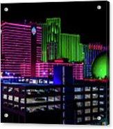 Casinos Acrylic Print