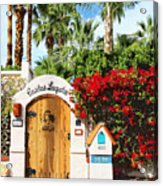 Casitas Laquita Palm Springs Acrylic Print
