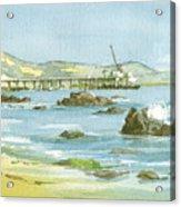 Casitas Pier II Acrylic Print