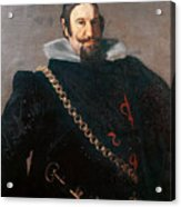 Caspar De Guzman Count Of Olivares Diego Rodriguez De Silva Y Velazquez Acrylic Print