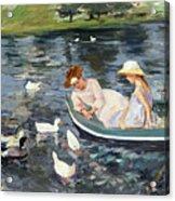 Cassatt: Summertime, 1894 Acrylic Print