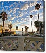 Cassidy Street Bridge Acrylic Print