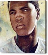 Cassius Clay Acrylic Print