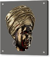 Cast In Character 2013 - Side View Transparent With Red Spotlight Acrylic Print