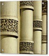 Cast Iron Columns Acrylic Print