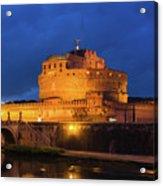 Castel Sant Angelo Acrylic Print