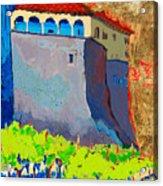 Castello Di Villafranca Acrylic Print
