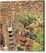 Castelo Rodrigo Garden Acrylic Print