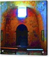 Castillo De San Marcos Chapel Acrylic Print