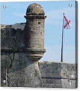 Castillo De San Marcos  Acrylic Print