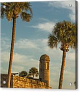 Castillo De San Marcos Dawn II Acrylic Print
