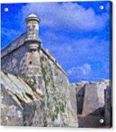 Castillo El Morro Havana Cuba  Acrylic Print