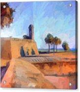 Castillo Rampart Acrylic Print