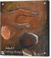 Casting Stones Acrylic Print