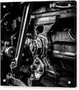 Detailed Grease Acrylic Print