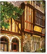 Castle - Castle IIi Acrylic Print by Mike Savad