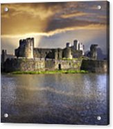 Castle At Dawn Acrylic Print