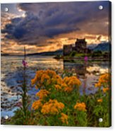 Castle Bliss Acrylic Print