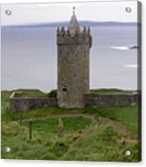 Castle By The Sea In Ireland Acrylic Print