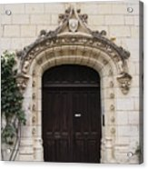 Castle Entrance Door Acrylic Print