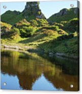 Castle Ewan With Reflection Acrylic Print