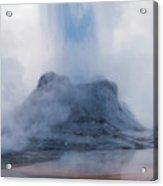 Castle Geyser Eruption Acrylic Print