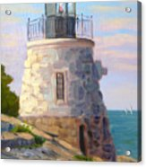 Castle Hill Light Newport Ri Acrylic Print