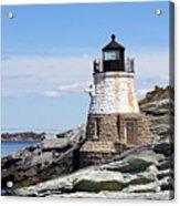 Castle Hill Lighthouse Newport Rhode Island 1 Acrylic Print