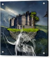 Castle In The Sky Art Acrylic Print