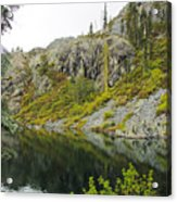 Castle Lake  Acrylic Print