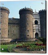 Castle Nuovo Naples Italy Acrylic Print