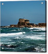 Castle Of Herod The Great Acrylic Print