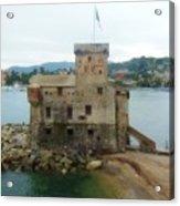 Castle Of Rapallo Acrylic Print
