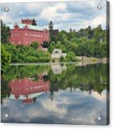 Castle On The Lake Acrylic Print