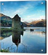 Castle On The Loch Acrylic Print