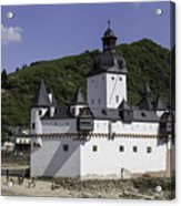 Castle Pfalz Acrylic Print