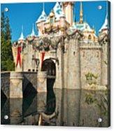Castle Reflection Acrylic Print