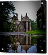 Castle Reflections Acrylic Print