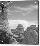 Castle Rock Rock Formation Acrylic Print