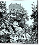 Castle Ruin Flossenbuerg Acrylic Print