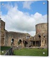 Castle Ruins Acrylic Print