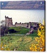 Castle Ruins Scotland Acrylic Print