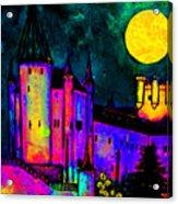 Castle Segovia Acrylic Print